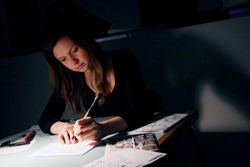 Anna Saunders: Solipsistic Pop Launch - ICA Comica by Derek Bremner.