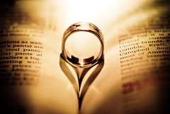 Ring in a Book Heart (Nas t) Tags: macro nikon ring tamron 90mm d60 3love heartbook