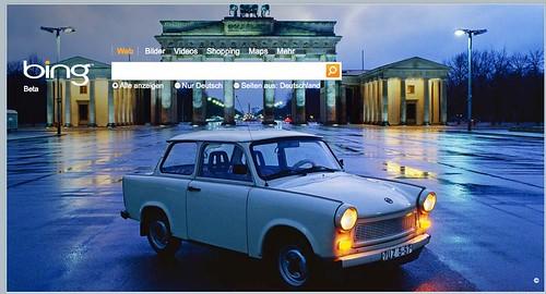 Bing Germany Berlin Wall Home Page