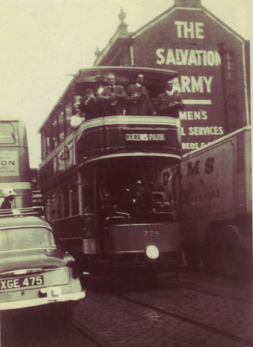 Last Tram, Argyle St, September 1962