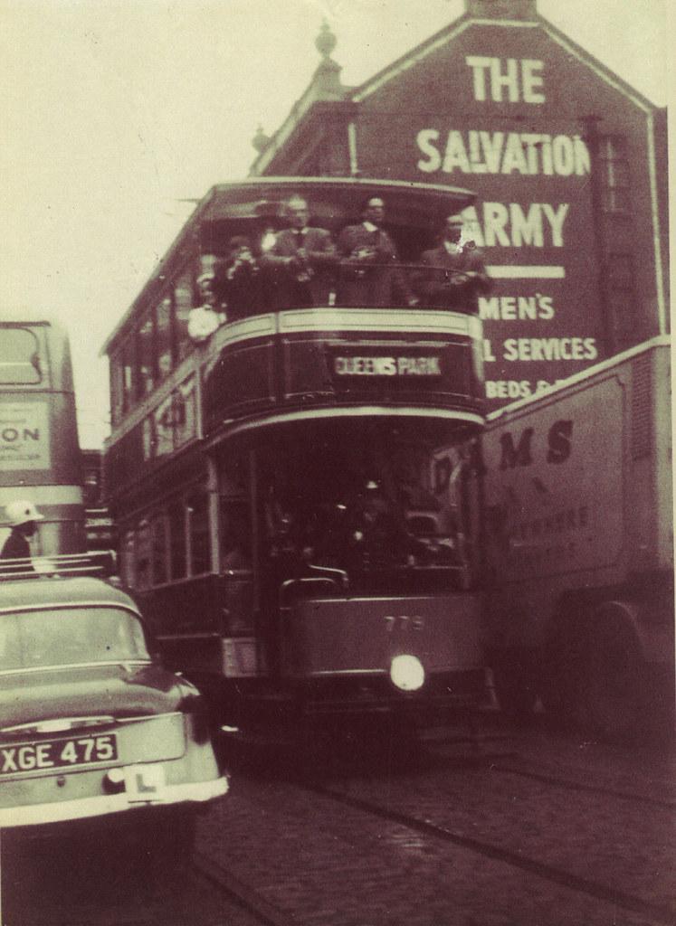 Last Tram, Argyle St, September 1962