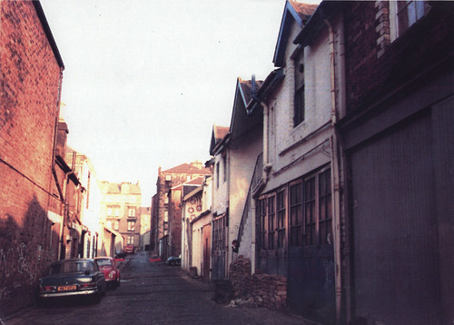 Ashton Lane - Gt George Lane, Hillhead, 1977.