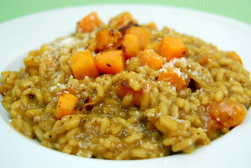 Pink Parsley: Butternut Squash Risotto