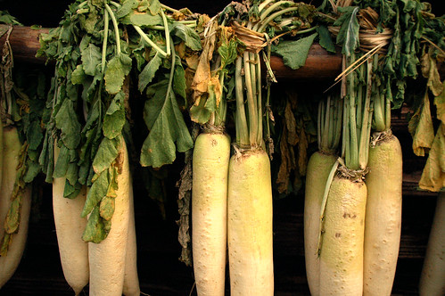 Daikon Drying