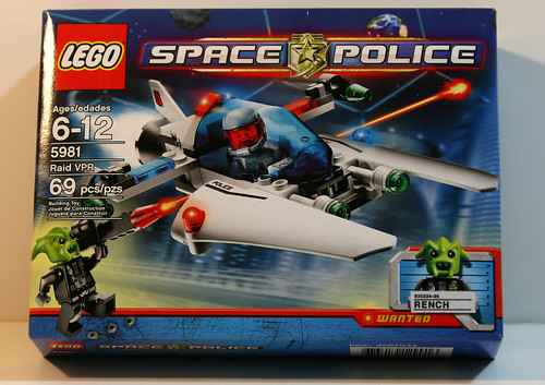 LEGO Space Police 5981 - RAID VPR - Front of Box