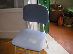 Cadeira: antes
