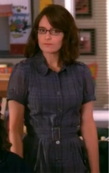 Liz Lemon Shirtdress