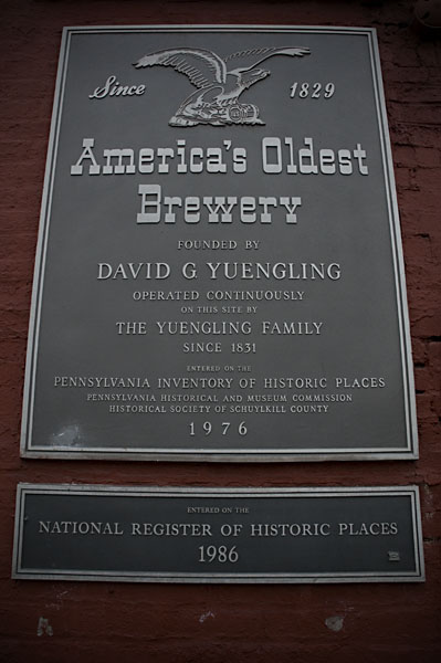 Registered as a national historic place.  And across the street is their broken down ice cream factory (registered as a hazard).