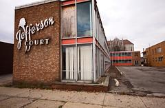 Jefferson Court Motel (congoeels) Tags: abandoned newcastle pennsylvania decay pa randyfox jeffersoncourtmotel