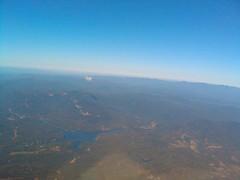 Mountain Lake (PilotDHC8) Tags: sky mountain lake mountains water flying nc northcarolina ashville secluded