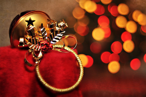 "Project 365: Day 342 ""Sleigh Bells & Bokeh"""