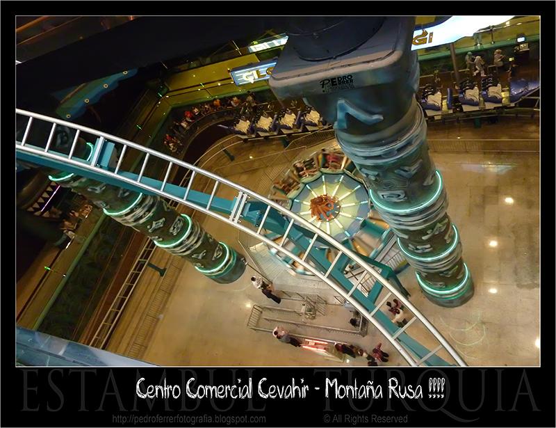 Centro Comercial Cevahir - ¡¡¡ Montaña Rusa !!!