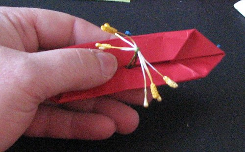 Ink Stains 25 Days Of Hand Made Ornaments 15 Origami Poinsettia