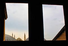 Istanbul (wamcclung) Tags: architecture turkey istanbul ottoman bluemosque domes sinan hagiasophia turkish minarets sultanahmet ayasofya