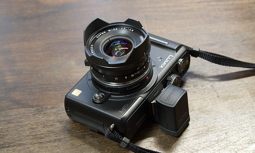 Panasonic DMC-GF1 with Voigtlander SWH 15/4.5