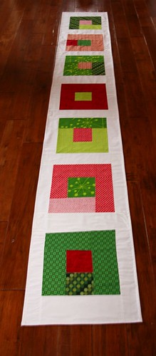 seven squares finished
