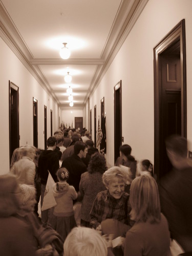 Line to Webb's Office