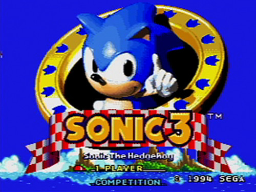 Sonic the Hedgehog 3 (Virtual Console)