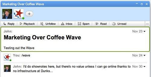 Critical flaw in Google Wave