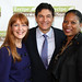 Gracie and Dr. Oz Team Up with MacGregor Principal Dr. Patricia Allen