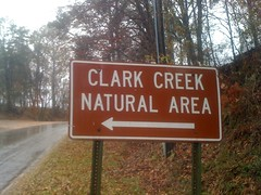Clark Creek Sign