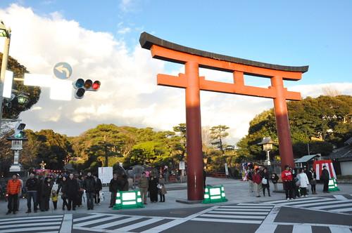 Hachimangu torii