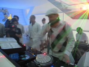 ปาร์ตี้ในกรุงเทพในเวลาค่ำคืน