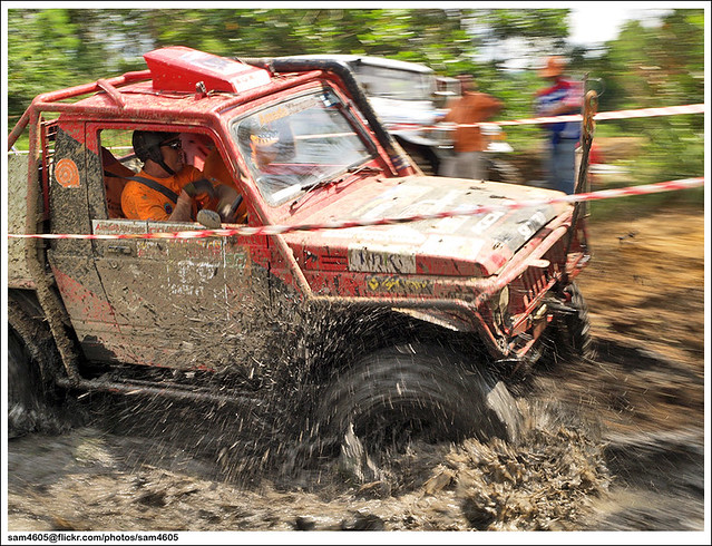 DAY 3 @ Kaamatan Ranau 4x4 Challenge 2011
