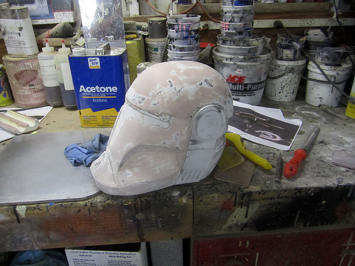 Republic Commando Helmet Smoothing