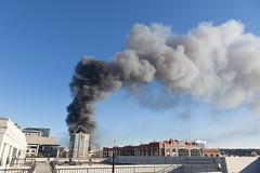 Large fire @ 4th and China Basin, SF/SOMA (Schill) Tags: sf fire soma chinabasin