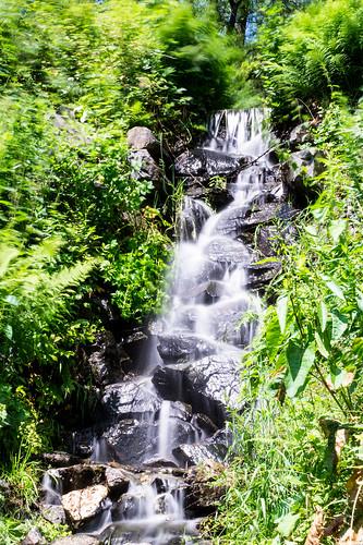Wasserfall / Waterfall - Kräutergarten Altenau