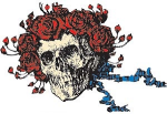Bertha Skull and Roses design