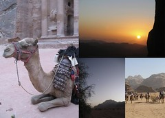 Photo Collage: Petra, Wadi Rum & Mt Sinai