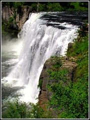 Mesa Falls, Idaho , Nature's Wild Beauty on the Snake River (moonjazz) Tags: park wild summer cliff nature water beauty wonderful river spectacular waterfall amazing energy power roadtrip tourist highlights hike tourists best idaho clear snakeriver wilderness tumble attraction steep sites pristine henrysfork pointsofinterest mywinners