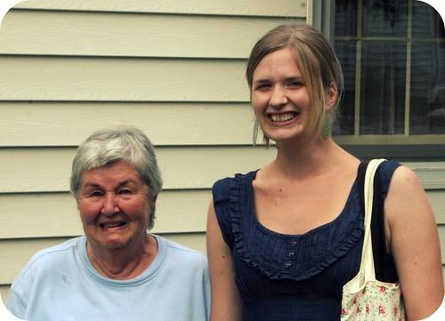 My Grandmother and I.