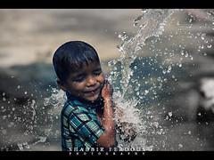 Cool Kid (Shabbir Ferdous) Tags: boy portrait water childhood cool photographer shot splash sylhet bangladesh bangladeshi jaflong ef70200mmf28lisusm canoneos5dmarkii shabbirferdous wwwshabbirferdouscom shabbirferdouscom