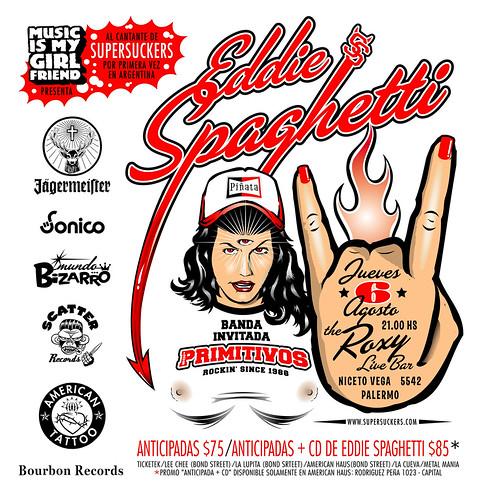 Flyer Eddie Spaghetti