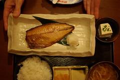 今日の焼き魚定食