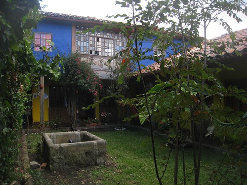 Courtyard at Musicology Hostel