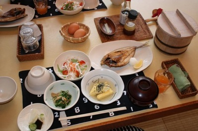 Breakfast in Japan