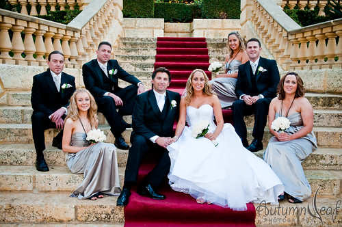 Mandi and Pierre - The Bridal Party
