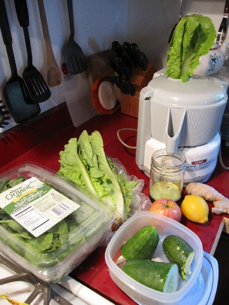 Do Not Disturb.  Juicing In Progress.
