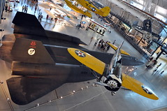 United States Air Force - Lockheed SR-71A Blackbird - USAF 61-7972 and Boeing P-26 Peashooter - Air and Space Smithsonian - Udvar Hazy Center - July 29th, 2009 1170 RT (TVL1970) Tags: stevenfudvarhazycenter udvarhazycenter udvarhazyannex smithsonian nationalairandspacemuseum smithsonianairandspacemuseum airandspacemuseum nasm washingtondullesinternationalairport dullesinternationalairport dullesairport iad nikon nikond90 d90 nikkor18105mmvr 18105mmvr unitedstatesairforce usairforce usaf lockheed skunkworks aviation aircraft airplane militaryaviation reconnaissanceaircraft photoreconnaissance reconnaissance 617972 6417972 cn2023 2023 lockheedsr71blackbird lockheedsr71 lockheedblackbird sr71blackbird sr71 blackbird lockheedsr71ablackbird lockheedsr71a sr71ablackbird sr71a oxcart habu prattwhitney pw prattwhitneyjt11d jt11d jt11d20 prattwhitneyj58 pwj58 j58 j58p4 usaac boeing boeingp26peashooter boeingpeashooter p26peashooter boeingp26 p26 peashooter boeingp26apeashooter boeingp26a p26a boeingmodel248 boeing248 prattwhitneywasp prattwhitneyr1340wasp r1340 prattwhitneyr1340