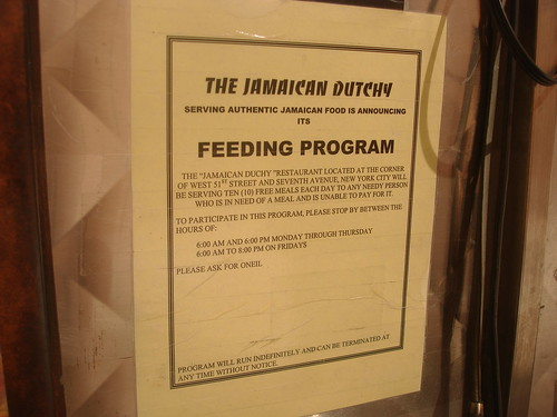 Jamaican Dutchy Feeding Program