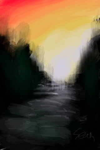 made with brushes