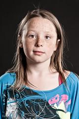 Eygl Inga (Baldur Pan) Tags: portrait brown girl children kid eyes child daughter inga freckles icelandic eygl mrarbolti