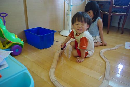 一豆的火車軌道組