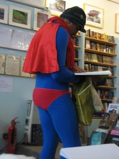 Superman Shops at Transreal!