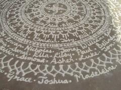 Rangoli at Castle Square, Lincoln (janakchauhan) Tags: rangoli indianart floorart