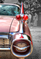 Cadillac hdr (cyanopolis) Tags: auto pink berlin classic car corporate design us fotografie metallic rosa cadillac oldtimer werbung hdr lack werbeagentur flgel agentur rcklicht scheinwerfer amicar worldcars cyanopolis mycarphoto